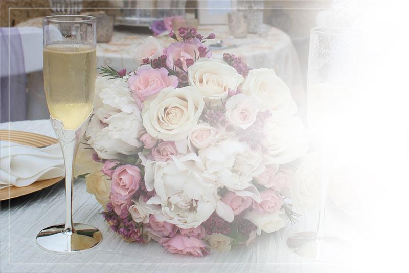 Dekoration Catering Hochzeit