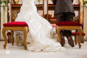 Brautpaar Altar