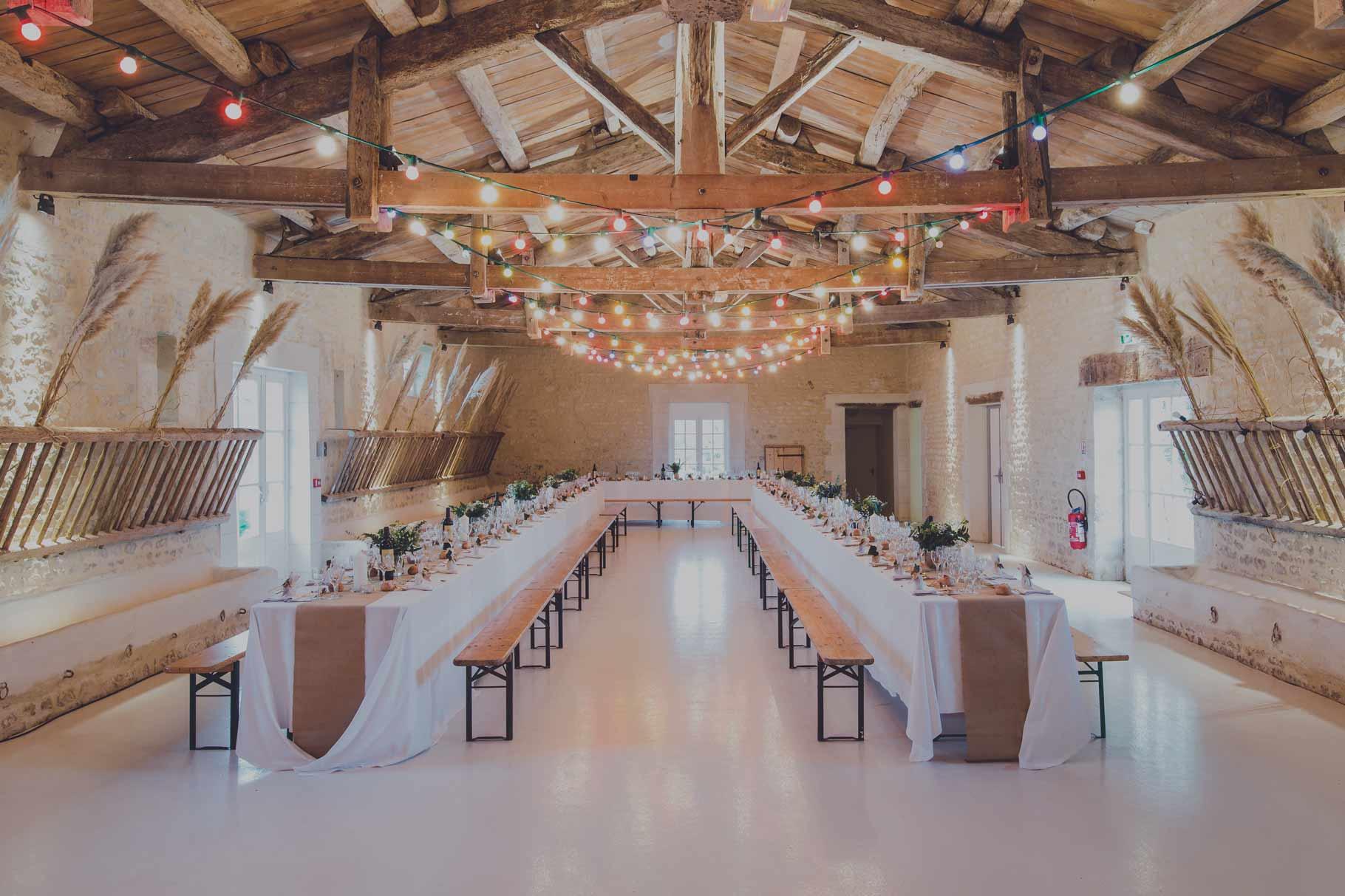 Hochzeit großer Tisch