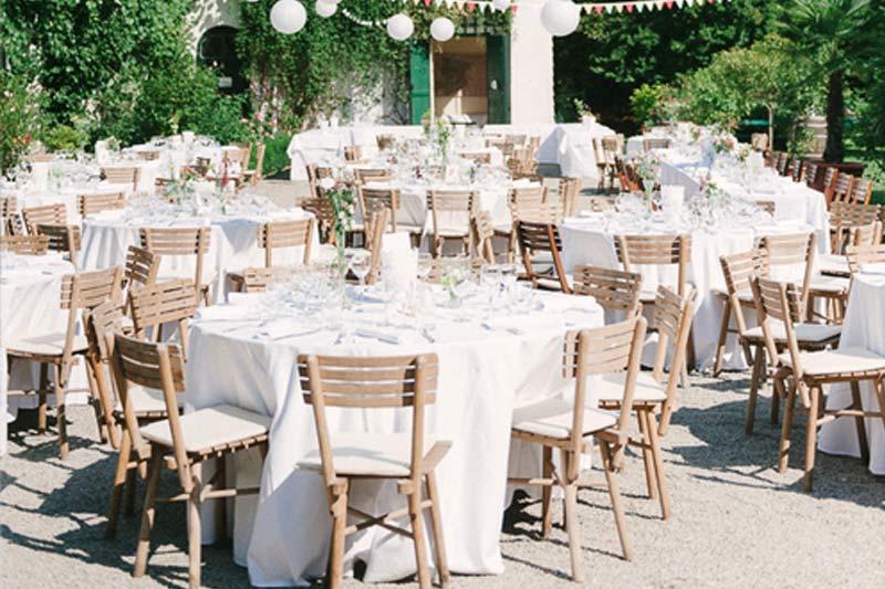 Hochzeit Tische Catering