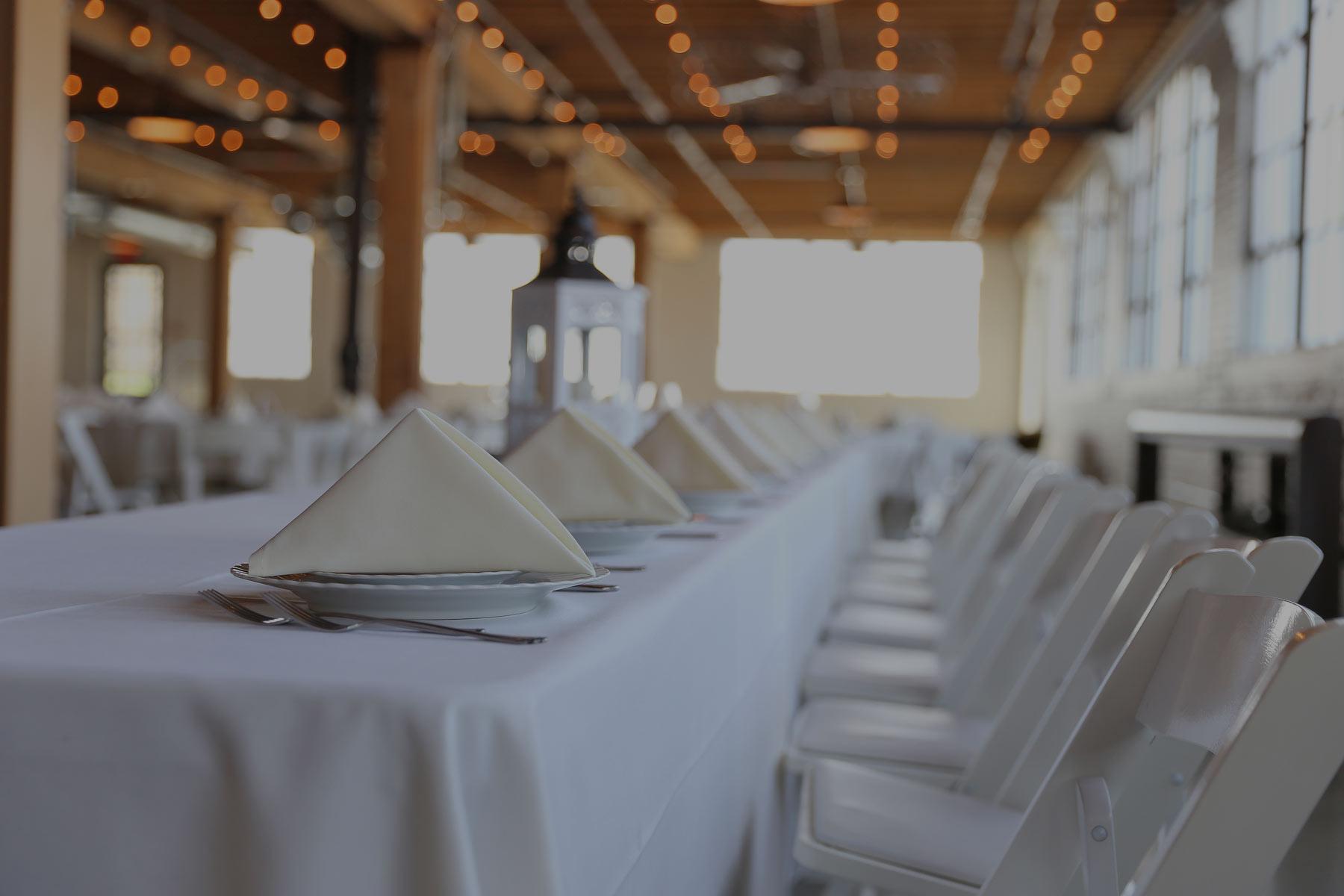 Tafel Hochzeit