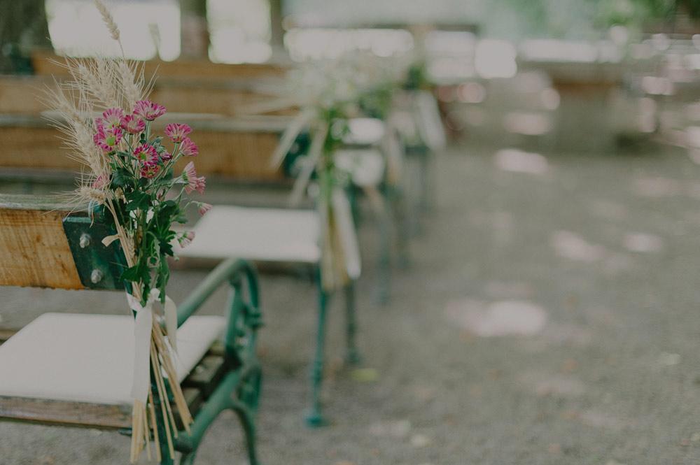 Bänke Hochzeit